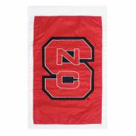 "North Carolina State Wolfpack 28"" x 44"" Double Sided Applique Flag"