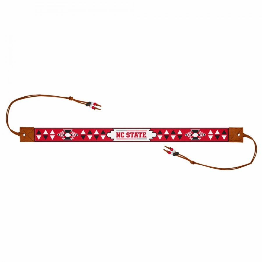 North Carolina State Wolfpack Beaded Headwrap