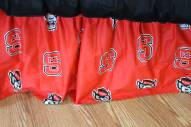 North Carolina State Wolfpack Bed Skirt