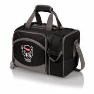 North Carolina State Wolfpack Black Malibu Picnic Pack
