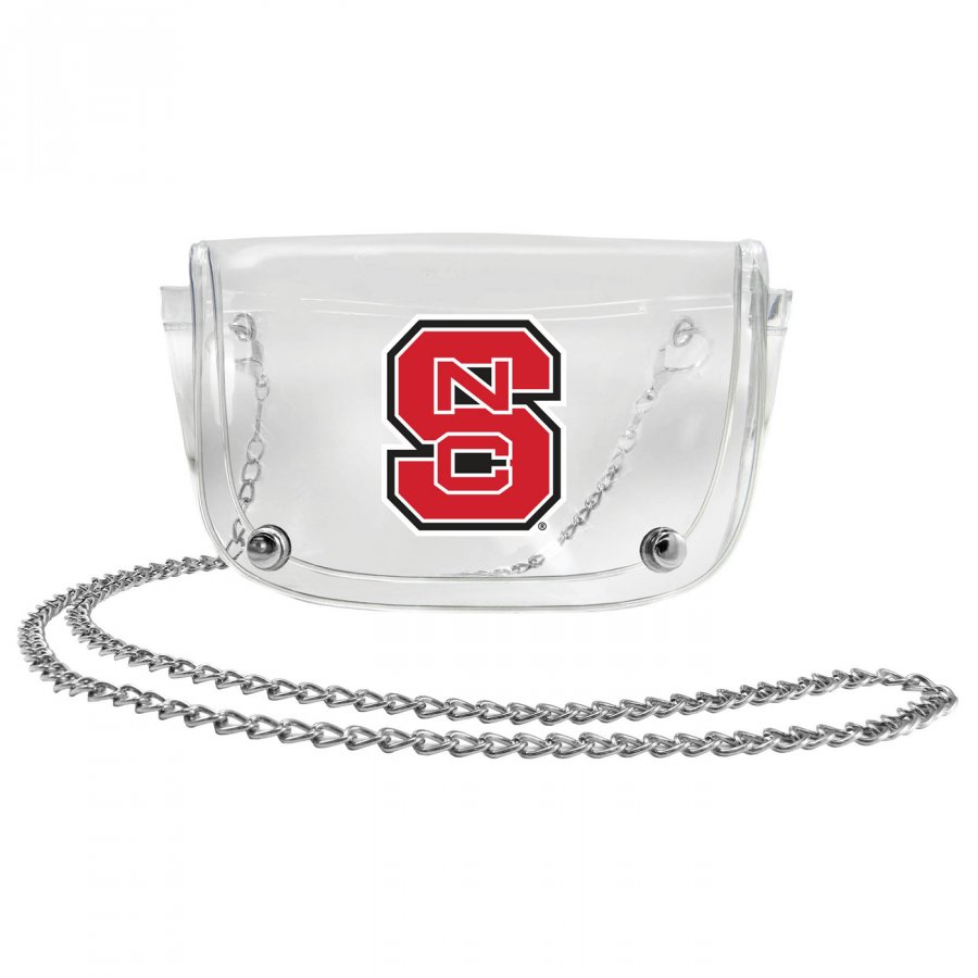 North Carolina State Wolfpack Clear Waistpack