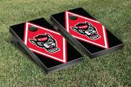 North Carolina State Wolfpack Diamond Cornhole Game Set