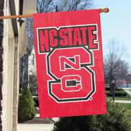 North Carolina State Wolfpack NCAA Embroidered / Applique College Flag Banner