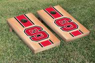 North Carolina State Wolfpack Hardcourt Stripe Cornhole Game Set