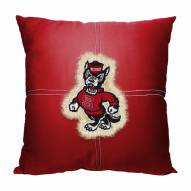 North Carolina State Wolfpack Letterman Pillow