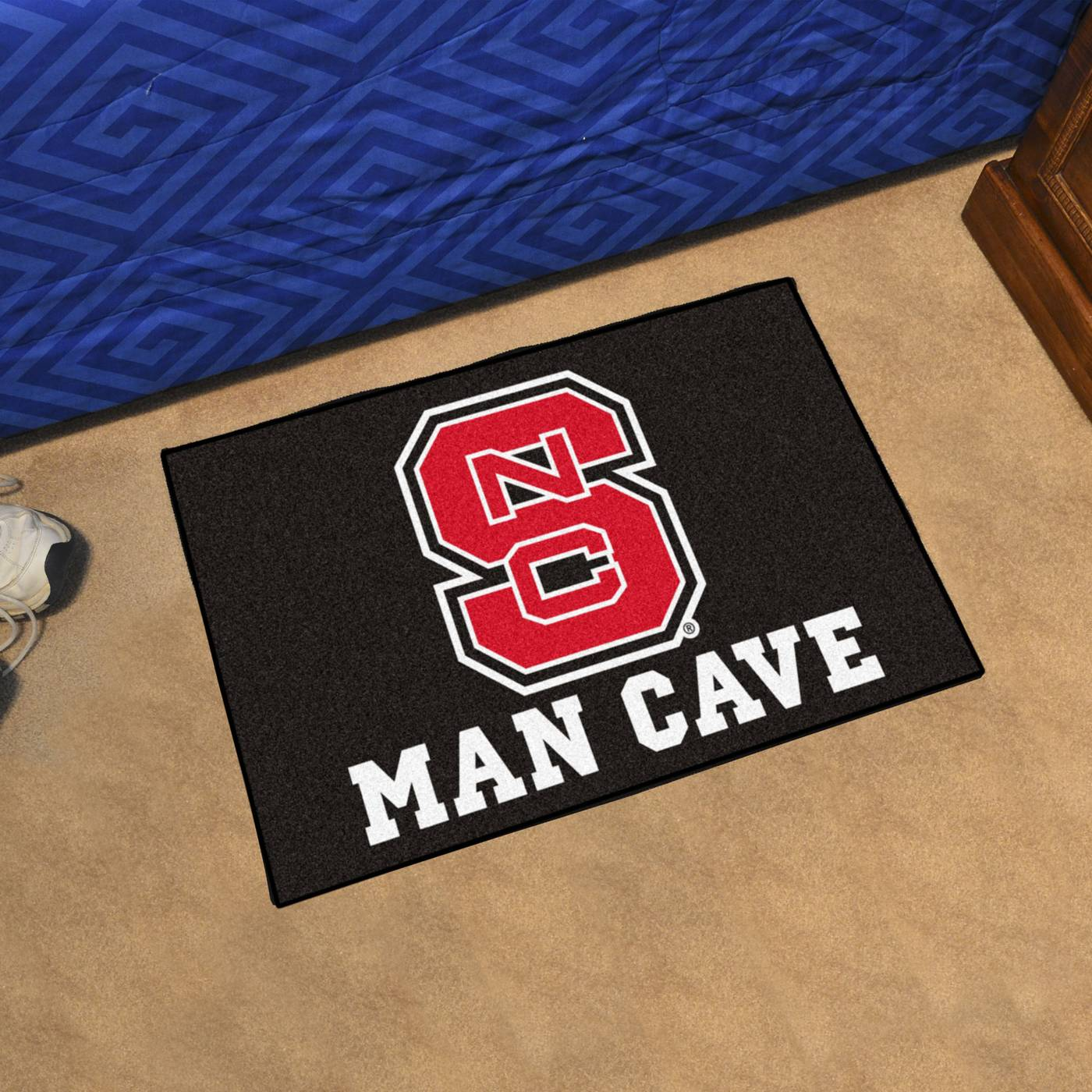 Man Cave Store Salisbury Nc : North carolina state wolfpack man cave starter mat