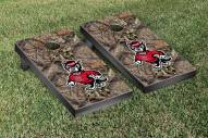North Carolina State Wolfpack Mossy Oak Cornhole Game Set