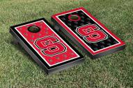 North Carolina State Wolfpack NCAA Border Cornhole Game Set