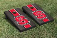 North Carolina State Wolfpack NCAA Onyx Stained Cornhole Game Set