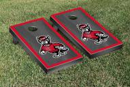 North Carolina State Wolfpack Onyx Stained Border Cornhole Game Set