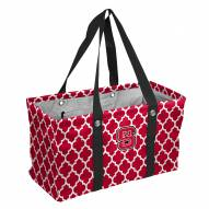 North Carolina State Wolfpack Quatrefoil Picnic Caddy