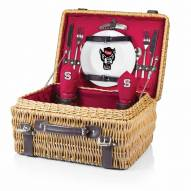 North Carolina State Wolfpack Red Champion Picnic Basket