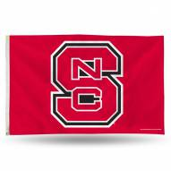 North Carolina State Wolfpack 3' x 5' Banner Flag