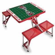 North Carolina State Wolfpack Sports Folding Picnic Table