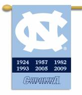 "North Carolina Tar Heels 28"" x 40"" Two-Sided Banner"