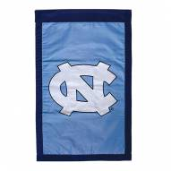 "North Carolina Tar Heels 28"" x 44"" Double Sided Applique Flag"