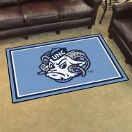 North Carolina Tar Heels 4' x 6' Area Rug