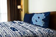 North Carolina Tar Heels Anthem Twin Bed Sheets