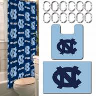North Carolina Tar Heels Bathroom Set