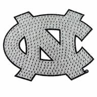 North Carolina Tar Heels Bling Car Emblem