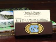 North Carolina Tar Heels Business Card Holder