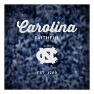 North Carolina Tar Heels Canvas Logo Art