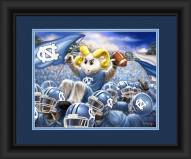 North Carolina Tar Heels Celebration Framed Print