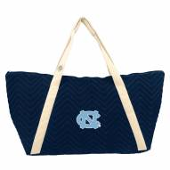 North Carolina Tar Heels Chevron Stitch Weekender Bag