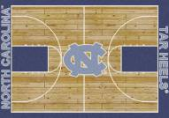 North Carolina Tar Heels College Home Court Area Rug