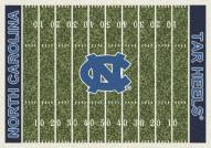 North Carolina Tar Heels College Home Field Area Rug