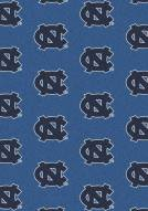 North Carolina Tar Heels College Repeat Area Rug