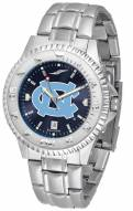 North Carolina Tar Heels Competitor Steel AnoChrome Men's Watch