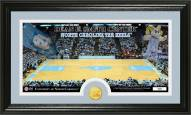 North Carolina Tar Heels Court Bronze Coin Panoramic Photo Mint