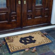 North Carolina Tar Heels Door Mat