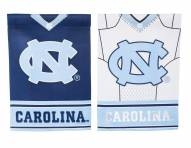 North Carolina Tar Heels Double Sided Jersey Garden Flag