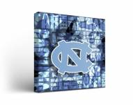 North Carolina Tar Heels Fight Song Canvas Wall Art