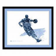 North Carolina Tar Heels Framed Silhouette Art