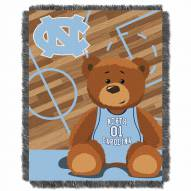 North Carolina Tar Heels Fullback Baby Blanket