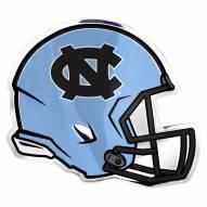 North Carolina Tar Heels Helmet Car Emblem