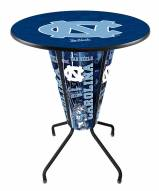 North Carolina Tar Heels Indoor/Outdoor Lighted Pub Table