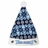 North Carolina Tar Heels Knit Santa Hat