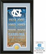 North Carolina Tar Heels Legacy Bronze Coin Photo Mint
