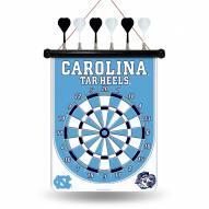 North Carolina Tar Heels Magnetic Dart Board