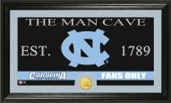 North Carolina Tar Heels Man Cave Bronze Coin Panoramic Photo Mint