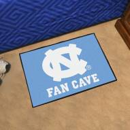 North Carolina Tar Heels Man Cave Starter Mat