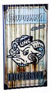 North Carolina Tar Heels Metal Wall Art
