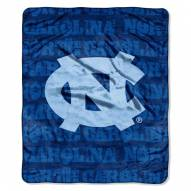 North Carolina Tar Heels Micro Grunge Blanket