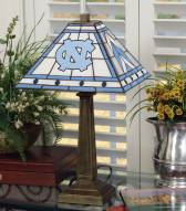 North Carolina Tar Heels Mission Table Lamp
