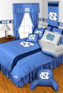 North Carolina Tar Heels NCAA Sideline Bed Set