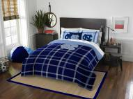 North Carolina Tar Heels Plaid Full Comforter Set